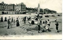 N°86 K -cpa Langrune Sur Mer -la Plage- - Francia