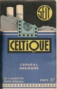 Vers 1930-CARNET De NOTES Détachable-PUB -SEIT -TABAC CELTIQUE-Ft 7x11Cm-TBE-RARE - Cigares - Accessoires