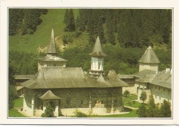 R3009 Romania - Suceava - Il Monastero Di Sucevita - Cartolina Con Legenda Descrittiva - Edizioni De Agostini - Europe