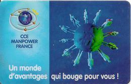 CARTE-PREPAYEE-FIRST TELECOM-CCE MANPOWER FRANCE-8Mn GRATUITES-TBE- - Tarjetas Prepagadas: Otras