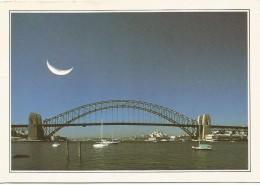 R3012 Australia - Sydney - Port Jackson - Cartolina Con Legenda Descrittiva - Edizioni De Agostini - Océanie