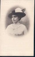 Doodsprentje Met Foto Bertha Augustina Maria Smets ° Antwerpen 1877 + Westmalle 1917 ( Vrouw Met Hoed ) - Devotion Images