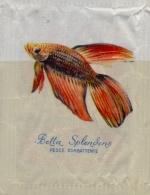 ITALIA : Suikerzakje/Sachet De Sucre/Sugar Package: VISSEN,POISSONS,FISHES, ## BETTA SPLENDENS–Pesce Combattente ## - Sucres