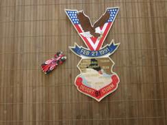 Feb 27 91 DESERT 91 STORM IRAQ BAGHDAD Militaria US ARMY AMERICA  Écusson Tissu Gulf War -Badge Fabric+Transport Sport - Patches