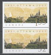 Canada 2007. Scott #2213 (MNH) Selection Of Ottawa As National Capital, 150th Anniv. - Neufs