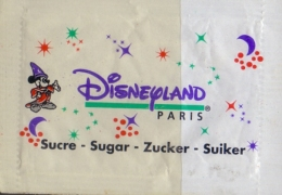 FRANCE : Suikerzakje/Sachet De Sucre/Sugar Package: ## DISNEYLAND - Paris ## - Sucres
