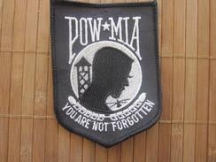 United States POW MIA KIA WIA Honor Glory Freedom Embroidered Fates Of Americans Still Prisoners Militaria ARMY  Écusson - Scudetti In Tela