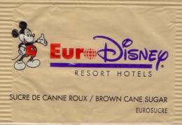 FRANCE : Suikerzakje/Sachet De Sucre/Sugar Package: ## Euro DISNEY – RESORT Hotels ## - Sucres