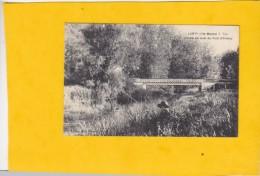 CPA - LANTY - L'Aube En Aval Du Pont D'Ormoy - Gauthier éditeur - Francia