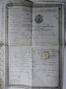 POLICE GENERALE DE L'EMPIRE AU NOM DE NAPOLÉON EMPEREUR DES FRANÇAIS 1808 - Documenti