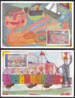 Yugoslavia Belgrade 1982 / Joy Of Europe / Children's Drawings / MC - Childhood & Youth