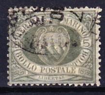 SAINT-MARIN 1892-94 YT N° 13 Et 15 Obl. - Saint-Marin