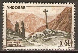 ANDORRE   -   1961 .  Y&T N° 159 A Oblitéré.