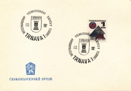K9071 - Czechoslovakia (1982) Trnava 1: International Grand Master Tournament TIRNAVIA - Scacchi