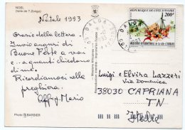 NOEL (TOILE DE T.ZONGO) / WITH COTE D'IVOIRE THEMATIC STAMP-INTERNATIONAL MARATHON - ABIDJAN - Costa D'Avorio