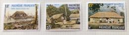 French Polynesia - 1988 MH* # 478/480 - French Polynesia