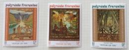 French Polynesia - 1988 MH* # 482/484 - French Polynesia