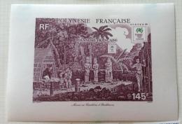 French Polynesia - 1988 MH* # 490 - Blocchi & Foglietti