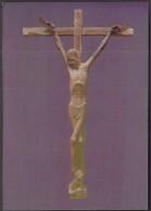 Yugoslavia  Zagreb 1983 / Ivan Mestrovic / Art / Sculptures / The Crucifix (1916) / Mestrovic Gallery Split - Crikvine - Sculptures