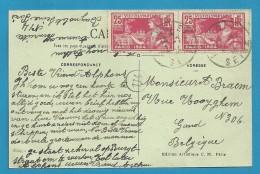 184 (VIII -OLYMPIADE PARIS 1924) Op Kaart Met Stempel BAYNOLET