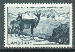 Französich-Andorra 1950 Flugpost Yvert PA 1 MNH