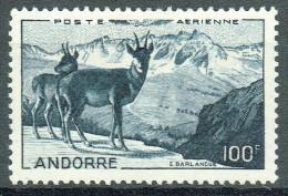 Französich-Andorra 1950 Flugpost Yvert PA 1 MLH