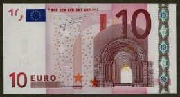 Portugal - M - 10 Euro - U003 I1 - M21775538596 - Trichet - UNC - EURO