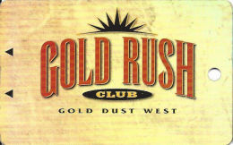 Gold Dust West Casino Reno, NV - Slot Card  (BLANK) - Casino Cards