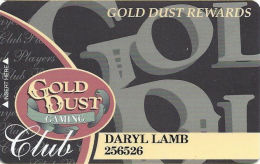 Gold Dust Casino Deadwood, SD - Slot Card - No Text Over Mag Stripe (no Mfg Mark) - Casino Cards