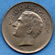 R7/  IRAN  20 RIALS 1351  KM#1180 - Iran