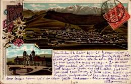 GRUSS AUS EINSIEDEIN..2 VUES...CPA - Suisse