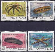 Vietnam 1985 - Marine Life ( Mi 1593/96 - YT 609/12 ) - Vita Acquatica