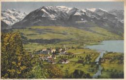 SARNEN → Das Benediktiner Kollegium Vor 85 Jahren Als Noch Alles Unbebaut War - OW Obwalden