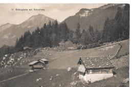BRÜNIGBAHN → Dampf-Zug Unterwegs Zwischen Käppeli Und Brünigpasshöhe, Ca.1930 - OW Obwalden