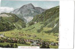 LUNGERN → Ein Kleines Dorf Um 1900 Mit Dem Wylerhorn - OW Obwalden