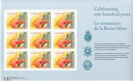 CANADA  1856  **   QUEEN  MOTHER - 1952-.... Reign Of Elizabeth II