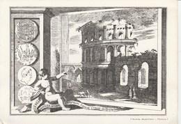 7491) CARTOLINA EDITA DA NUMISMATICA MUSCHIETTI PADOVA NON VIAGGIATA MONETE ROMANE 10 - Monete (rappresentazioni)