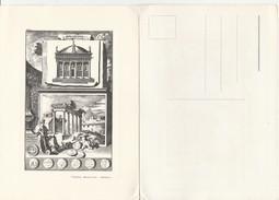 7493) CARTOLINA EDITA DA NUMISMATICA MUSCHIETTI PADOVA NON VIAGGIATA MONETE ROMANE 12 - Monete (rappresentazioni)