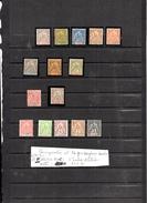 Timbres Des Colonies Françaises Neufs Avec Charnières .SENEGAMBIE Et NIGER  ,13 Timbres  ,2 Timbres Oblitérés - Sénégambie Et Niger (1903-1906)