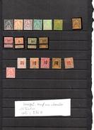 Timbres Des Colonies Françaises Neufs Avec Charnières .SENEGAL ,16 Timbres - Unused Stamps