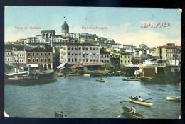 Cpa De Turquie --  Constantinople  Péra Et Galata  JIP23 - Turquie