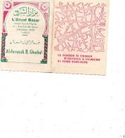 Carte Double Pub L'Orient Bazan, Tunis. Tapis De Kairouan; Margoums, Persans. ..... Voir Scans. - Art Oriental