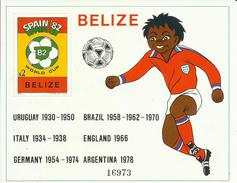 HOJA BLOQUE BELIZE  MNH  ** - 1982 – Espagne