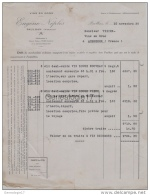 34 1089 PAULHAN HERAULT 1936 Vins EUGENE NEPLES Vente Canton De Montagnac à Vin TIXIER - France