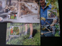 Lichtenstein 2003  Wein Winzer, 1322-1324  Michel € 4,50   MK 219