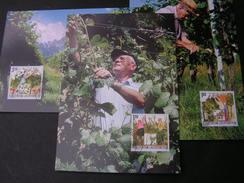 Lichtenstein 2003  Wein Winzer, 1311-1313  Michel € 9,00  MK 216