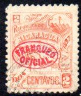 T887 - NICARAGUA  , Yvert N. 72 Usato . Servizio - Nicaragua