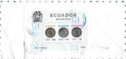 GUAYAQUIL ECUADOR - SUIZA/THERWIL → Letter With Airmail Stamps 1972  ►CORREO AEREO◄ - Equateur