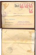 Lettre Espana   Avec Censure  1938 - Documentos Antiguos