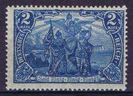 Deutsches Reich 1905 Mi Nr 95 B II  MNH/**/postfrisch/neuf Sans Charniere  25: 17
